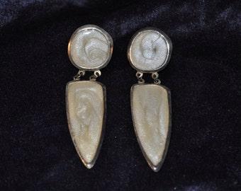 Vintage 80's Drop Earrings