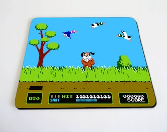 Duck Hunt inspired Mousepad