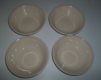 4 Corelle English Breakfast Berry Bowls, Made in the USA