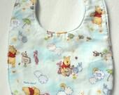 Winnie the Pooh Minky Bib