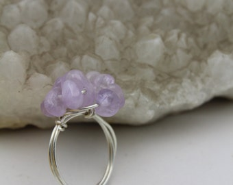 Amethyst Nugget Ring