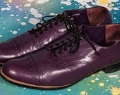 Purple STACY ADAMS Men's Dress Shoes Size 11 D