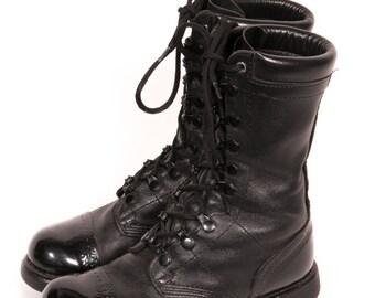 CORCORAN Captoe COMBAT Boots Women's Size 5 .5 M