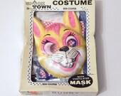 Vintage Halloween - Vintage  Halloween Costume - Ben Cooper - Vintage Cat - Cat Costume - Vintage Toddler Costume