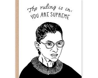 Ruth Bader Ginsburg Card - All Occasion