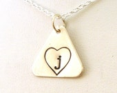 Adoption Necklace - Initial Adoption Jewelry - Initial Necklace - Sterling Silver Jewelry