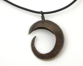 Open Copper Spiral