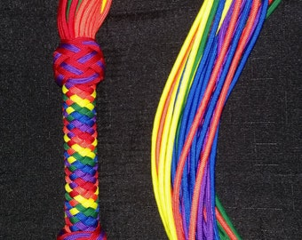 LGBT Pride Rainbow Flogger