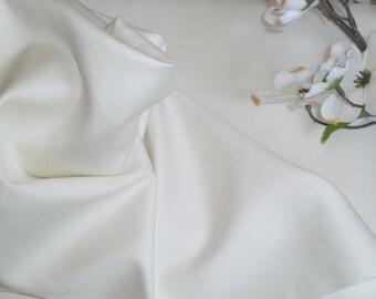 Ivory Pima Cotton Sheen Sateen