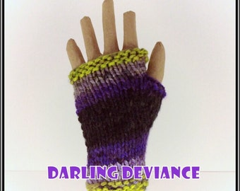 Fingerless Gloves - Spooky