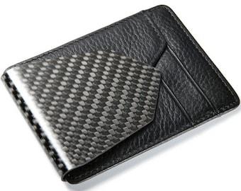 M3 Carbon Fiber Money Clip Wallet