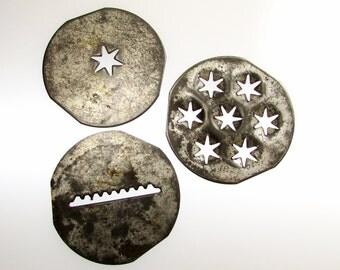 Stars and Stripe Cookie Disks: Vintage Kitchenware