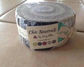 Zen Chic Chic Neutrals Jelly Roll Moda