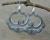 Hoop earrings big bold earrings bohemian earrings gypsy jewelry bohemian jewelry free spirit boho chic large earrings