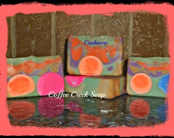 Cashmere pure and natural soap