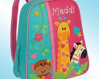 Backpack - Personalized and Embroidered - Go Go Bag - GIRL ZOO