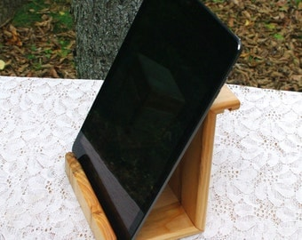 "Th BlackWater ""IPSII"" - White Pine Ipad Stand - New Design"