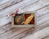 Thanksgiving Cookies - Gobble Turkey Cookies - 2 Piece Gift Box