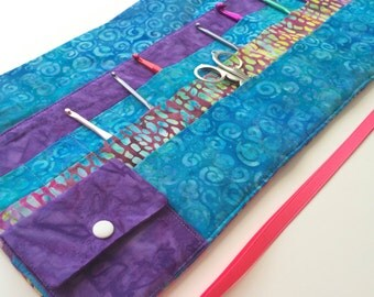 Specialty Crochet Needle Case To Fit Clover Soft Touch and Armour Crochet Needles