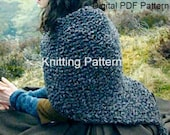 PDF Pattern Claire's Shaulette **Knitting Pattern** Cape Outlander Inspired Sassenach Knitting Pattern PDF File Is not a finished product.