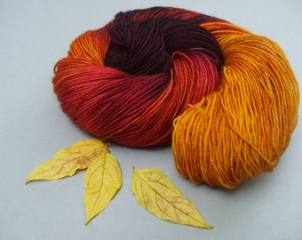 British Superwash BFL 4 ply Sock Wool. Rock the Kasbah