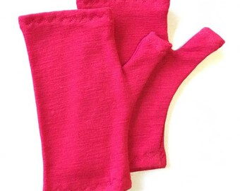 Kids Fingerless gloves- sizes 6mths-10yrs- PDF Sewing Pattern