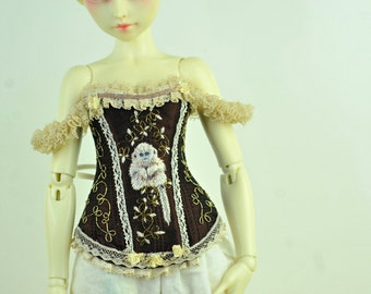 The Monkey of Wisdom BJD Art Line Corset for Fairyland Minifee MSD