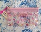 NEW Sanrio My Melody x Baskin Robbins zipper clear case