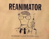 HORROR Reanimator / Descendents PATCH mashup Herbert West aka Milo goes to college
