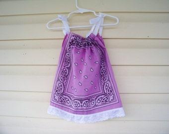 Bandana Dress 6-12 mo.