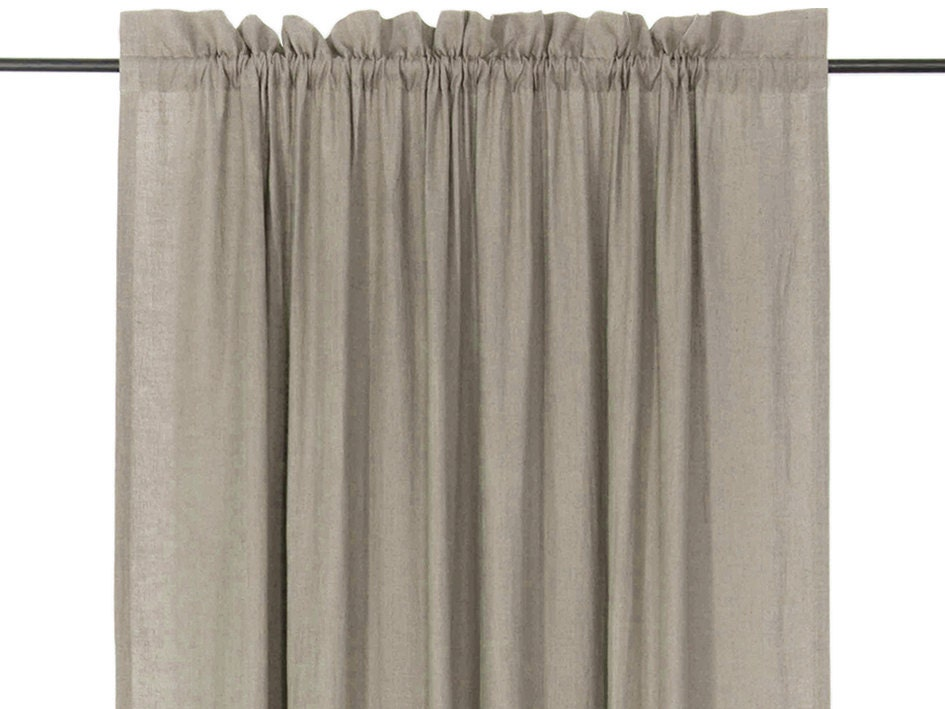 Window Curtains Linen Curtain Panels Natural Curtains