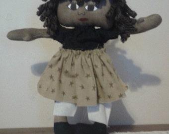"""11"""" Cloth Rag Doll"""