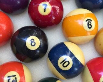 Vintage Bakelite Billiard Balls ~ Pick The One You Want ~ Replacement Billiard Balls