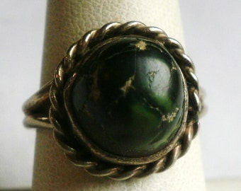 Vintage Sterling Silver Ring-Size 7 1/4