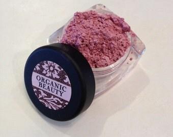 BABY CAKES BLUSH Organic Minerals  Beauty Cosmetics All Natural Vegan Soft Pink Rose Shade