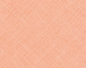Architextures Crosshatch in Creamsicle, Carolyn Friedlander, Robert Kaufman Fabrics, 100% Cotton Fabric, AFR-13503-152 CREAMSICLE