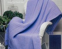 20%OFF The Needlecraft Shop COZY COMFORT By Pamela Noel - Crochet Afghan Collector's Series Pattern