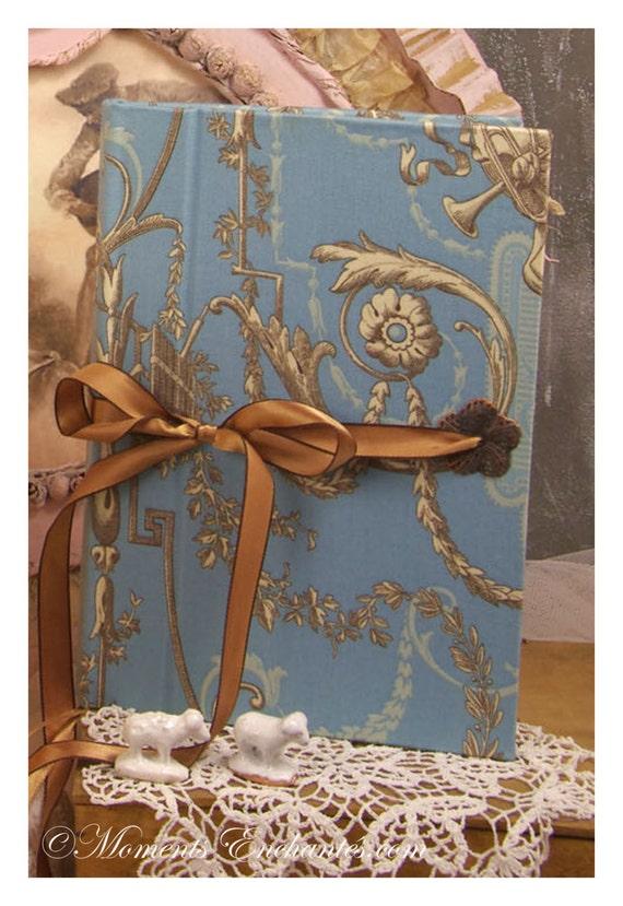 """Carnet des invites  """"L'art de vivre à la française """" ornements Guest book"""