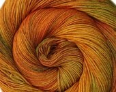 SALE merino silk yarn Destinations Vancouver hand dyed fingering weight 3.5oz 435 yards