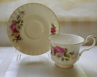 Vintage ROYAL  SCHAUMBURG Caprice Fantasies Bone China Teacup
