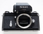 Nikon Camera Black Late FTn Body & Working Finder