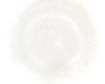 White SOLVENT RESISTANT Glitter 0.015 Hex - 1 Fl. Ounce for Glitter Nail Art, Glitter Nail Polish & Glitter Crafts