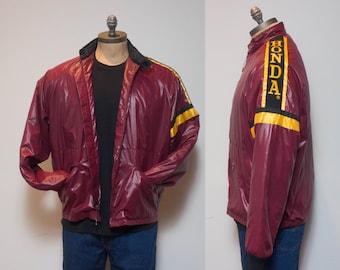 XL | Vintage Honda Racing Jacket w/ Removable Liner by Hondaline