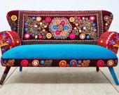 Suzani 2-seater sofa - Summer