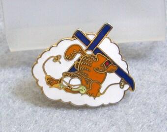 1978 Garfield the Cat Ski  Pin