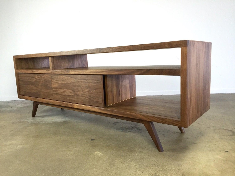 mid century modern danish modern tv console tv stand. Black Bedroom Furniture Sets. Home Design Ideas