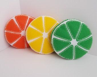 Fluffy Lemon, Lime, and Orange