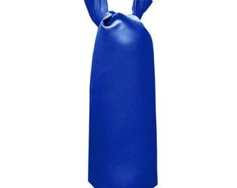 Men's Solid Royal Blue Ascot Cravat Tie, for Formal Occasions