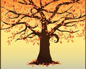 Fall Tree Clipart Clipart Autumn Tree Clipart Fall Forest