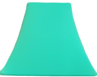 Light Jade Slip Cover for your existing lampshade - stretches to fit perfectly